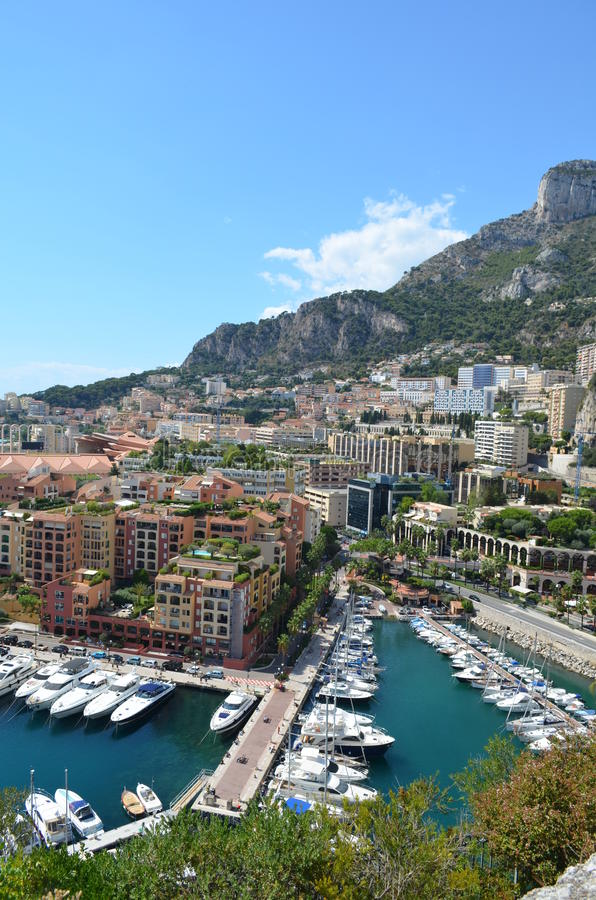 Monte Carlo Boats royalty-vrije stock foto's