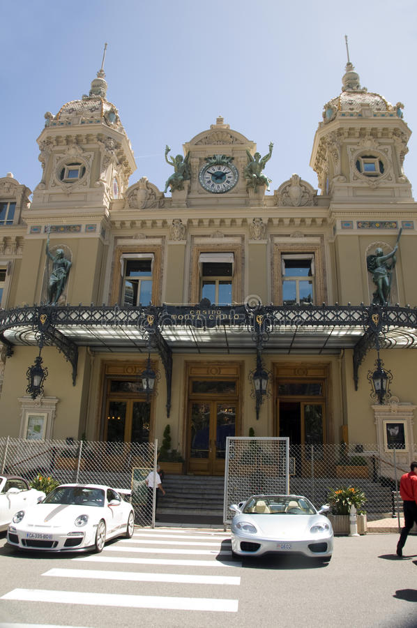Download Monte Carlo Casino With Grand Prix Racing Cars Editorial Stock Image - Image: 25244489