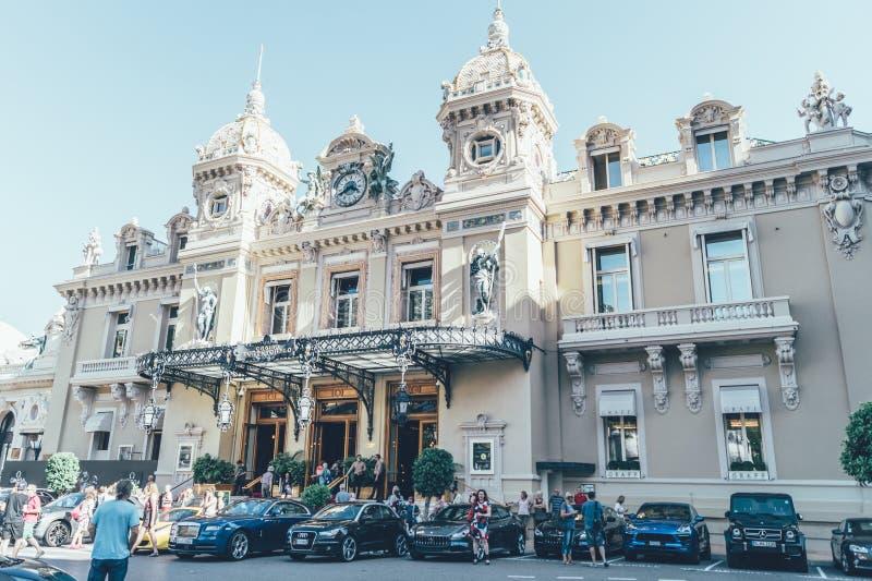 Monte Carlo Casino royalty free stock photography