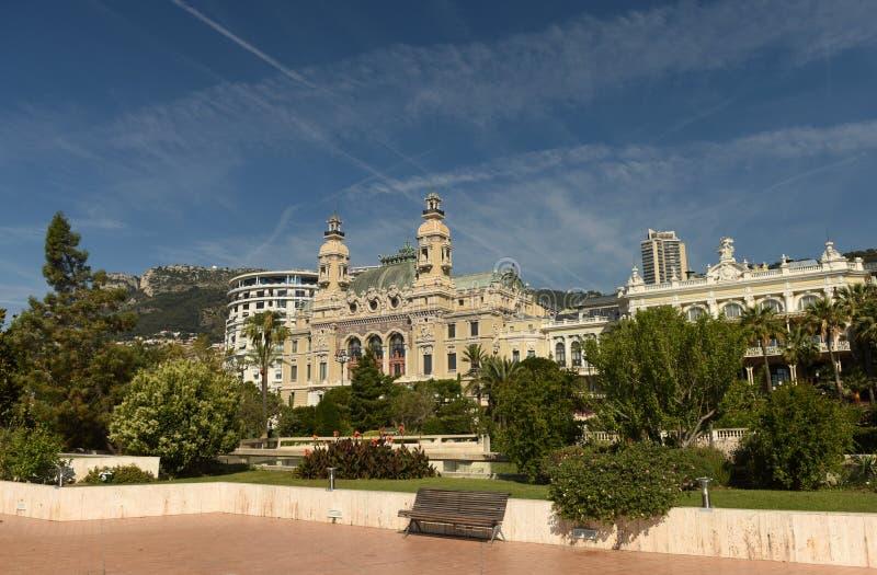 The Monte Carlo Casino, Monaco.  stock photo