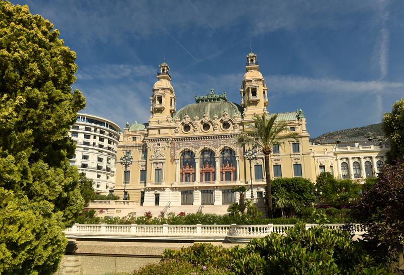 The Monte Carlo Casino, Monaco.  stock image