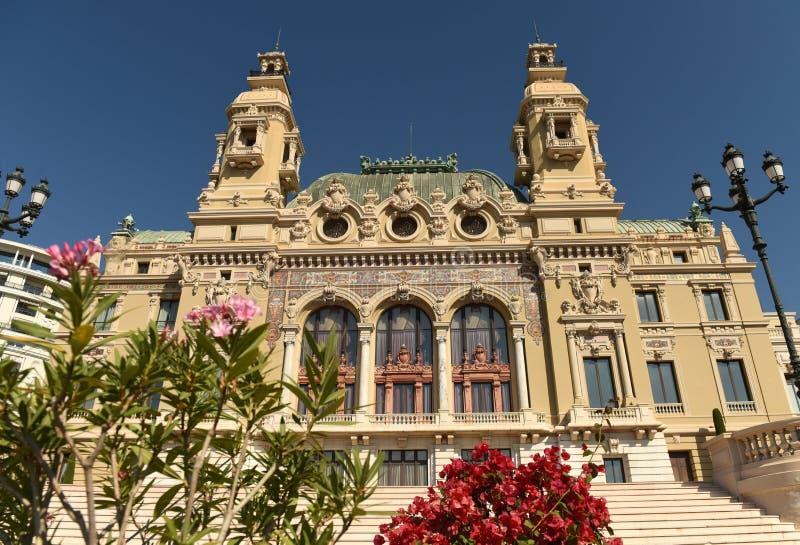 The Monte Carlo Casino, Monaco.  stock photography