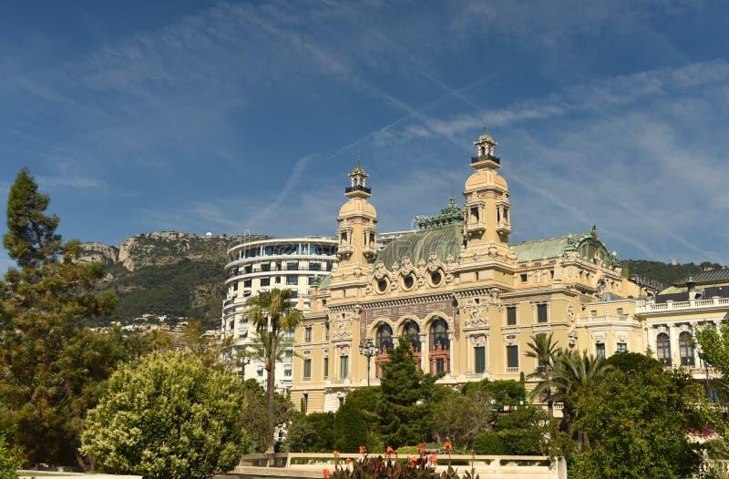 The Monte Carlo Casino, Monaco.  royalty free stock images