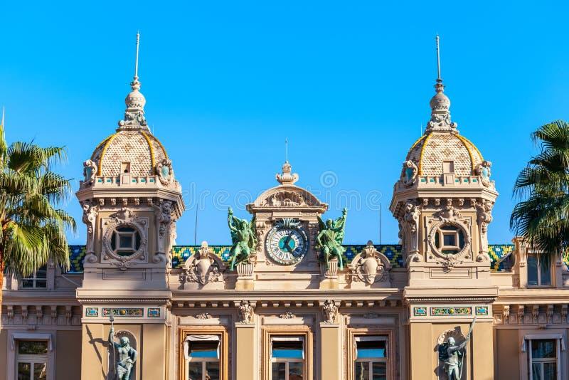 Monte Carlo Casino Opera, Monaco photo stock