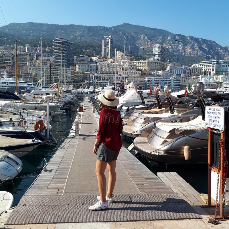 Monte Carlo, de bouw, recreatie, vliegdekschip, drager, met platte kop, aanvalsvliegdekschip, ruimteveer royalty-vrije stock afbeeldingen