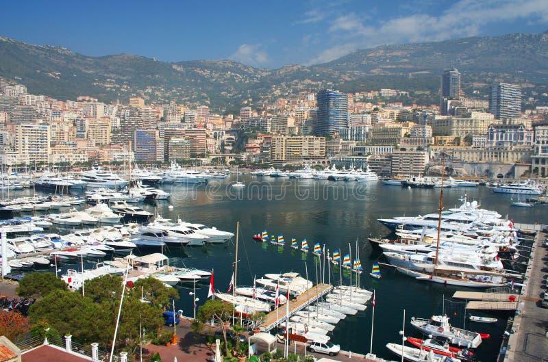 Monte Carlo in Monaco royalty-vrije stock afbeelding
