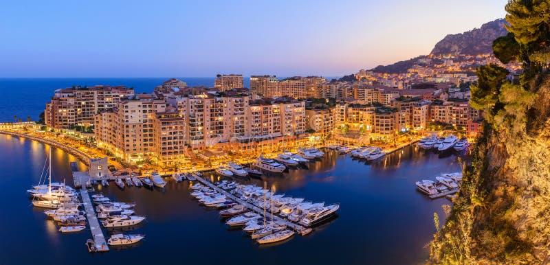 Monte Carlo Monaco royalty-vrije stock afbeelding