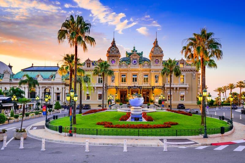 Monte Carlo, Monaco - casino image libre de droits