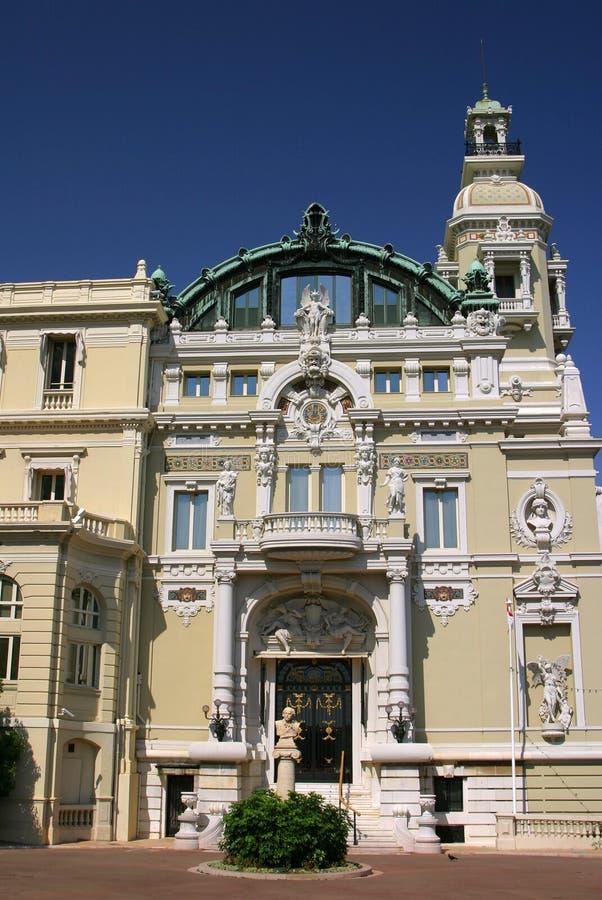Monte Carlo - nouveau di arte immagine stock libera da diritti