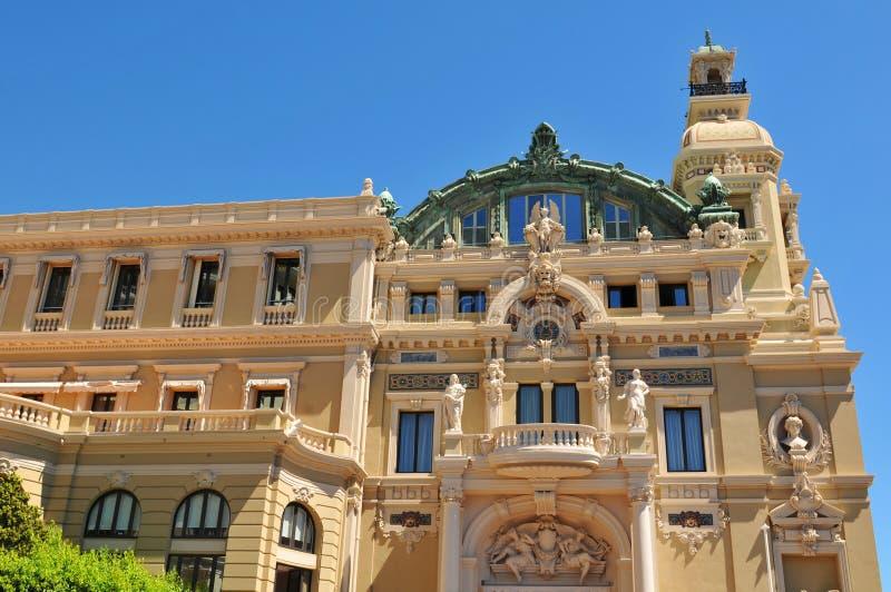 Monte Carlo Opera photographie stock libre de droits