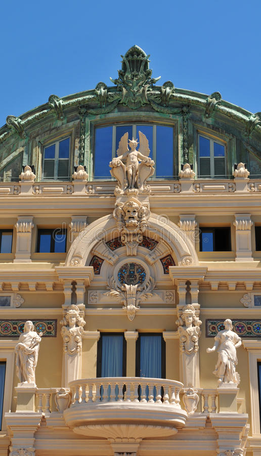 Monte Carlo Opera royalty free stock images