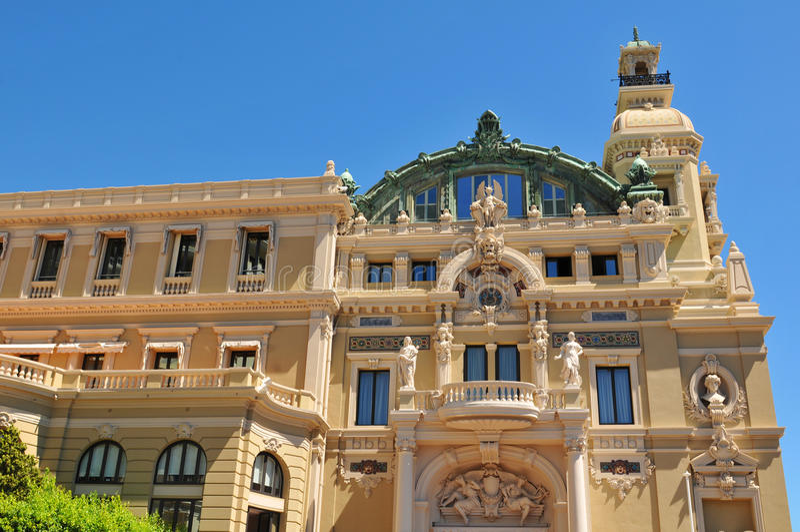Monte Carlo Opera royalty free stock photography