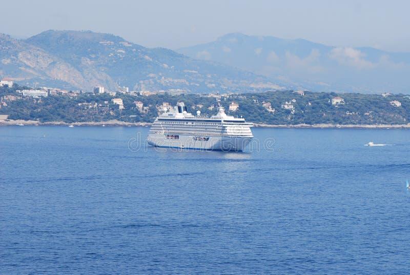Monte Carlo, passagiersschip, watervervoer, overzees, waterweg royalty-vrije stock foto's