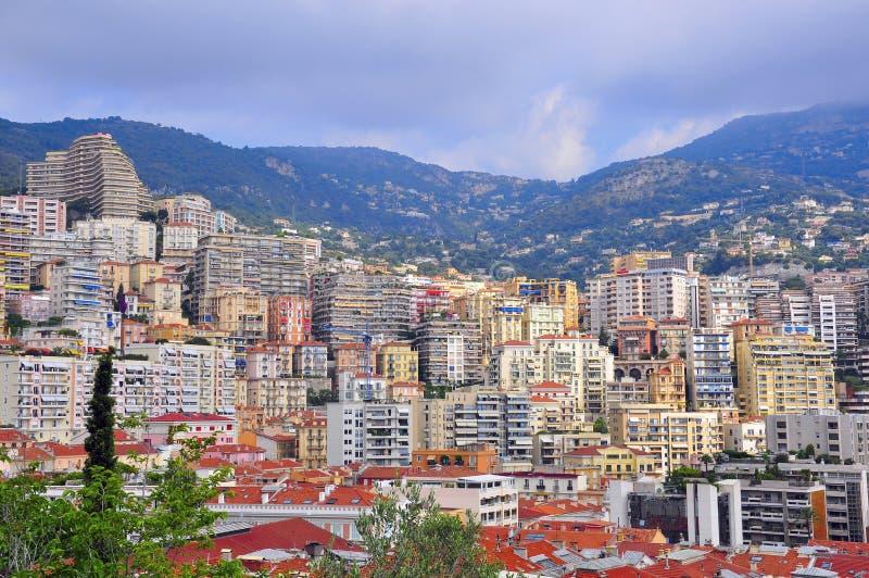 Monte, Carlo pejzaż miejski - zdjęcie stock