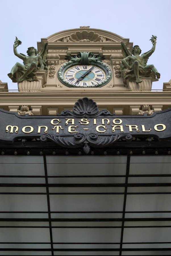 Monte - casino de Carlo fotografia de stock