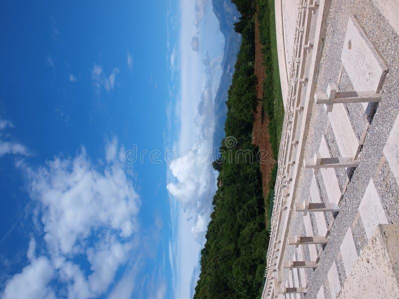 Monte Cassino, Италия стоковые изображения rf