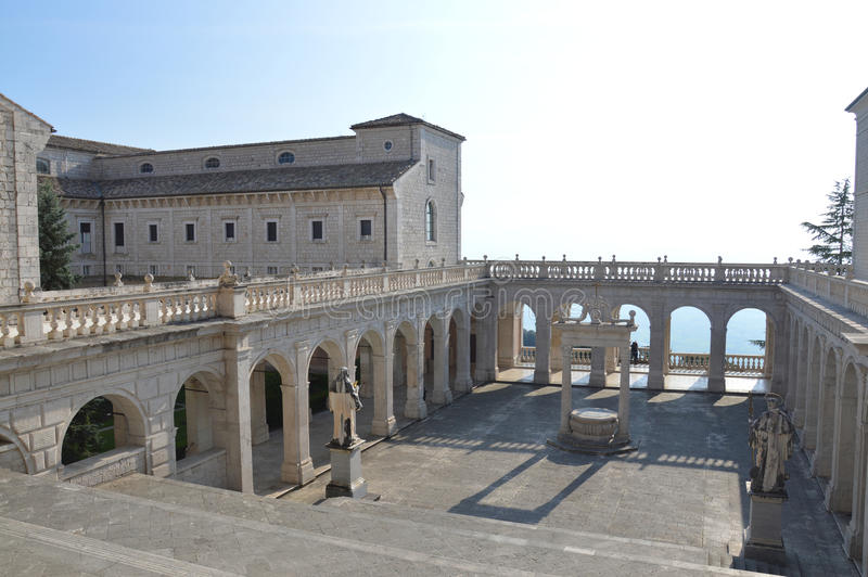 Monte Cassino photo stock