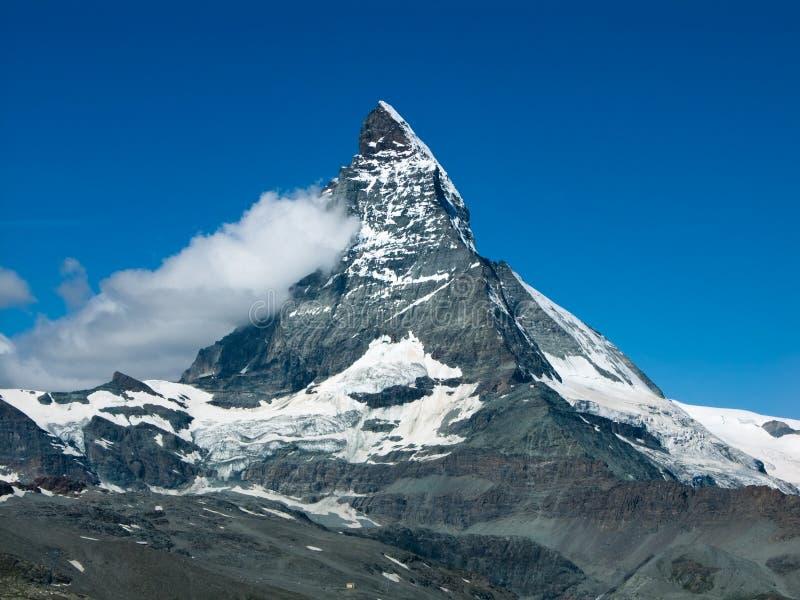 Monte Cervino (Matterhorn) royalty free stock image
