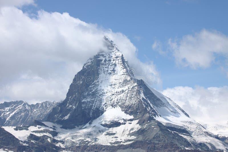Monte Cervino/Matterhorn, cumes do Pennine fotos de stock royalty free