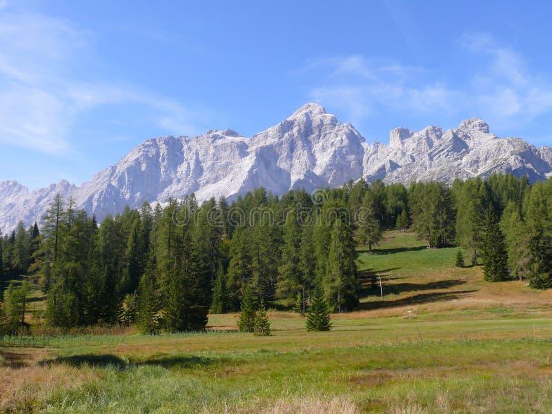 Monte Civetta zdjęcie royalty free