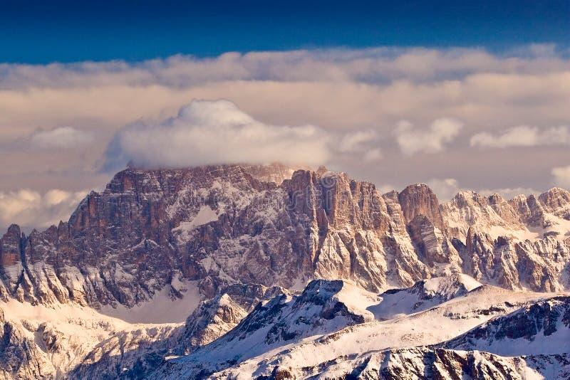 Monte Civetta, Dolomit, Italien. lizenzfreies stockbild