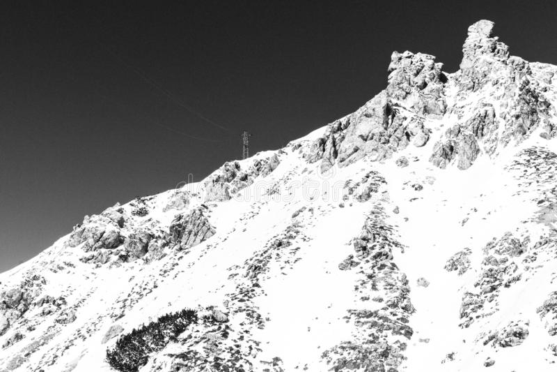 Monte Cristallo 免版税库存图片