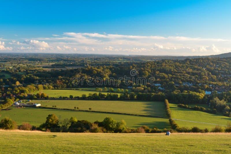 Monte da caixa, Surrey fotos de stock