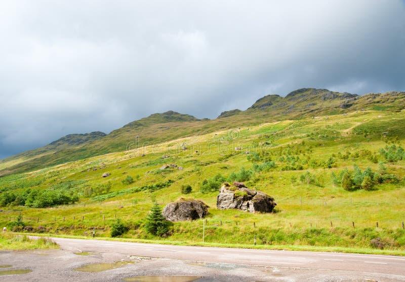 Monte das montanhas foto de stock