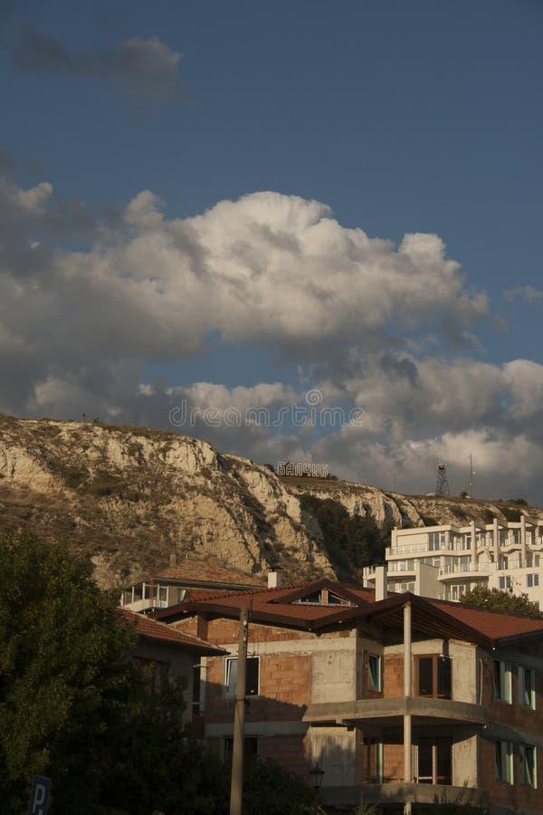 Monte de Balchik foto de stock