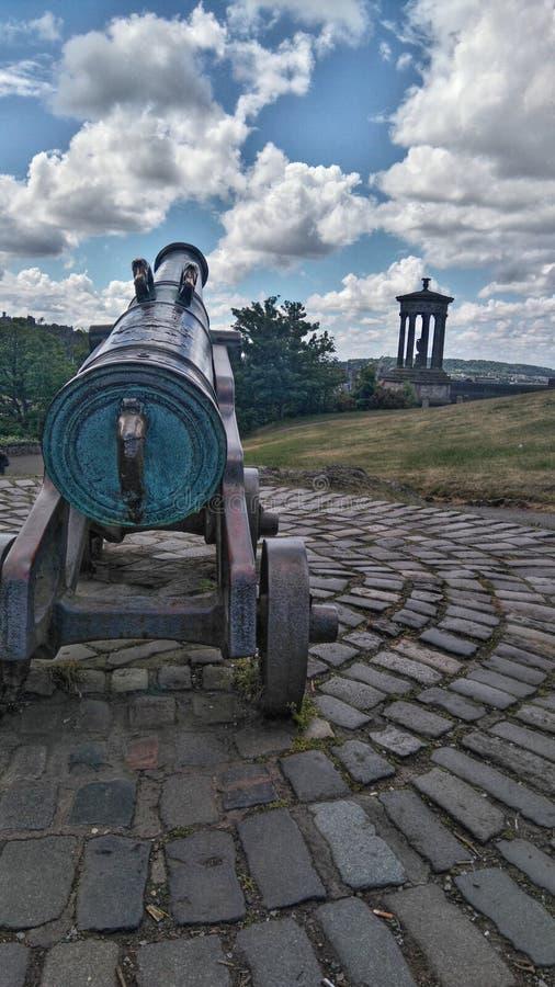 Monte de Calton em Edimburgo imagem de stock