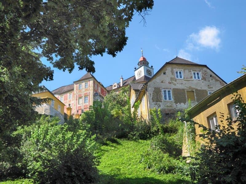 Monte de Jansky do castelo do estado imagens de stock royalty free