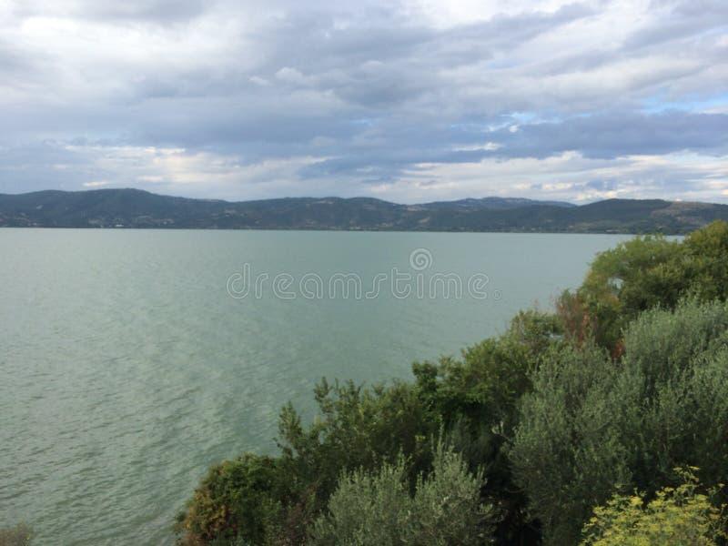 Monte de Lago fotografia stock