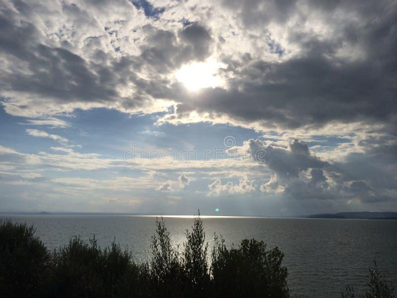 Monte de Lago immagini stock libere da diritti