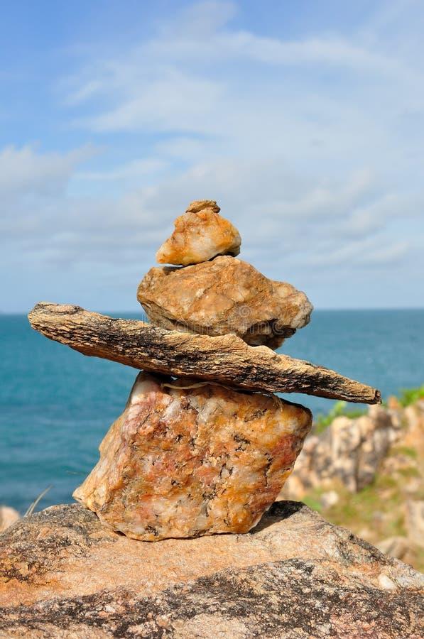Monte De Pedras De Pedra Foto de Stock