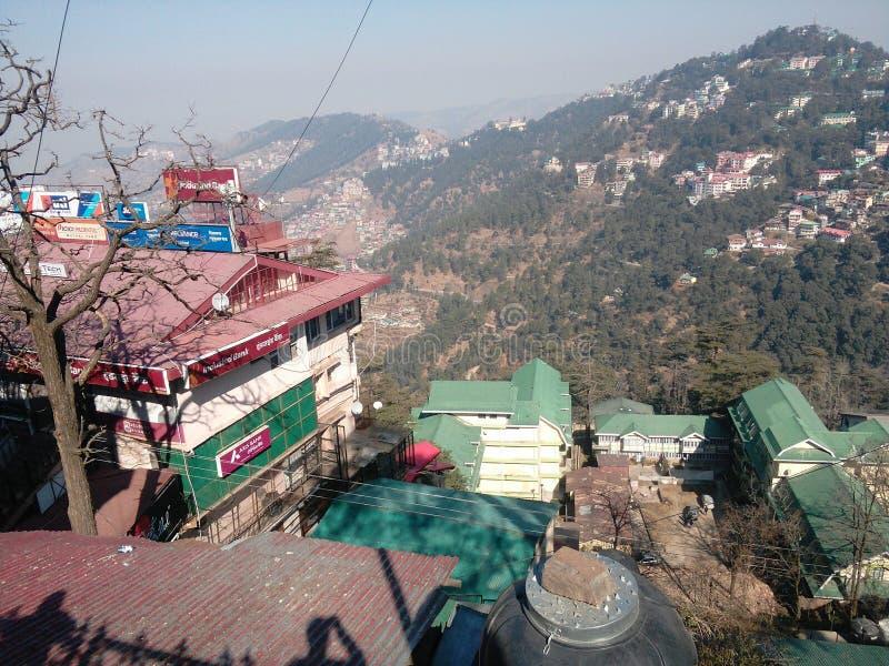 Monte de Shimla imagem de stock royalty free
