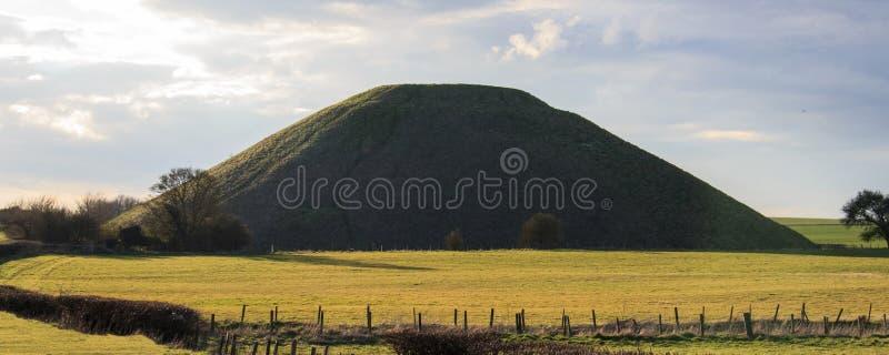 Monte de Silbury imagens de stock