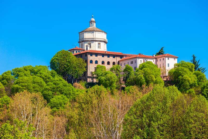 Monte dei Cappuccini教会,都灵 免版税图库摄影