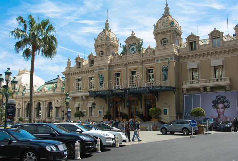 Monte do casino - Carlo monaco fotos de stock royalty free