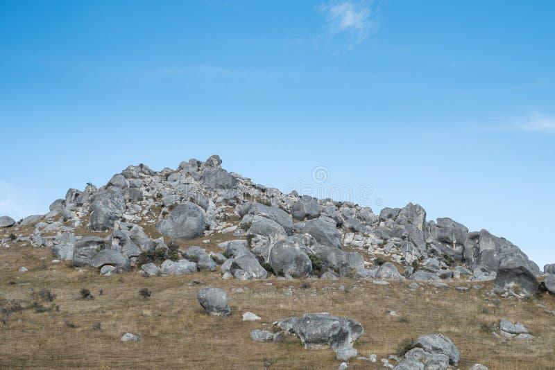 Monte do castelo, Nova Zelândia imagem de stock