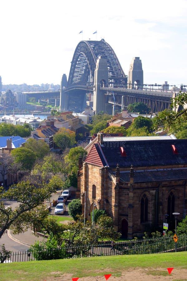 Monte do obervatório, Sydney imagens de stock royalty free