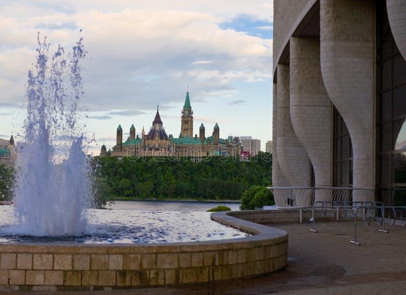 Monte do parlamento imagem de stock
