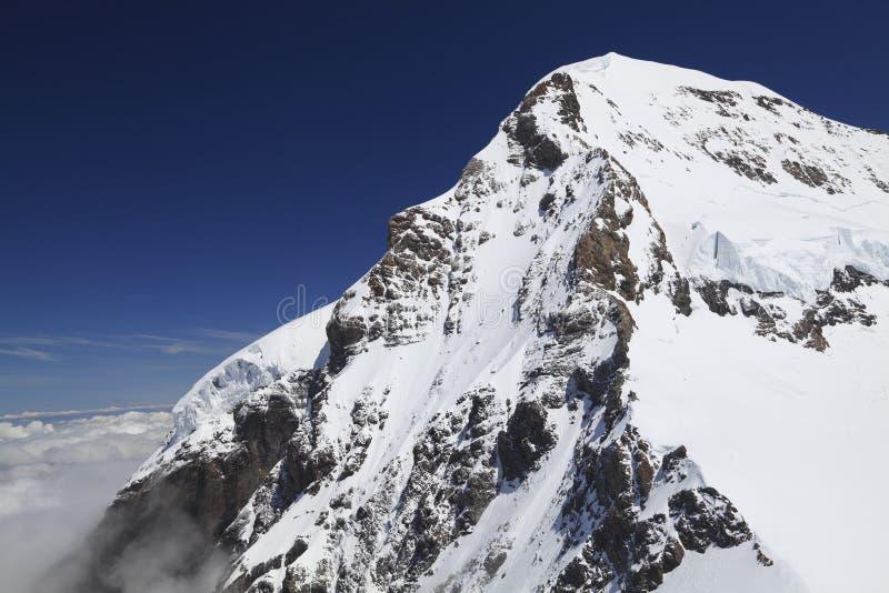Monte Eiger na região de Jungfrau, suíço fotos de stock royalty free