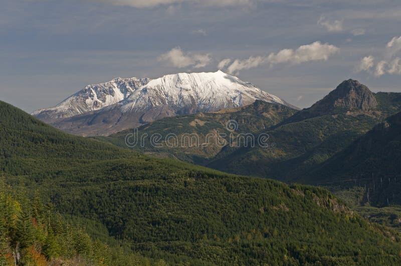 Monte el volcán del St Hellens fotografía de archivo