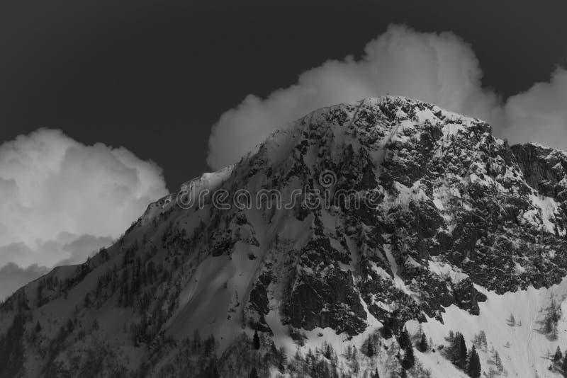 Monte Ezendola fotografie stock