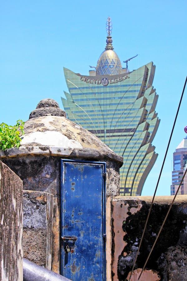 Monte Fort, Macao, China imagen de archivo libre de regalías