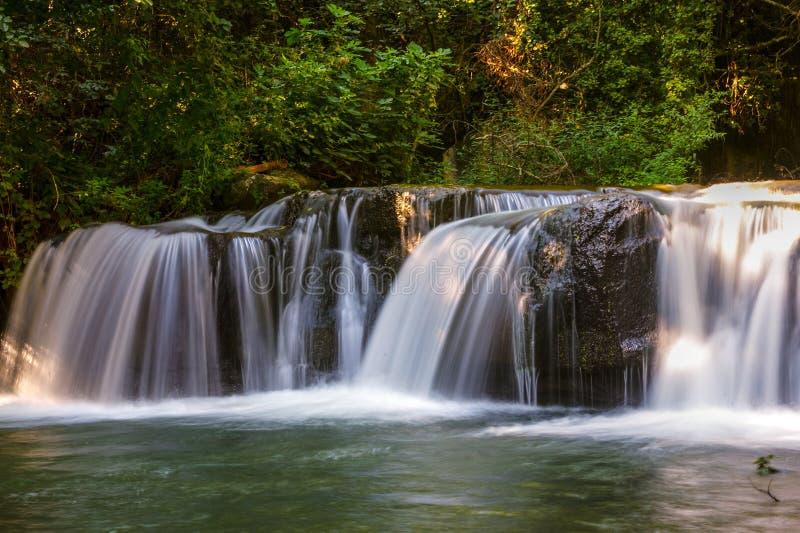 Monte Gelato-Wasserfall #2 stockfotos