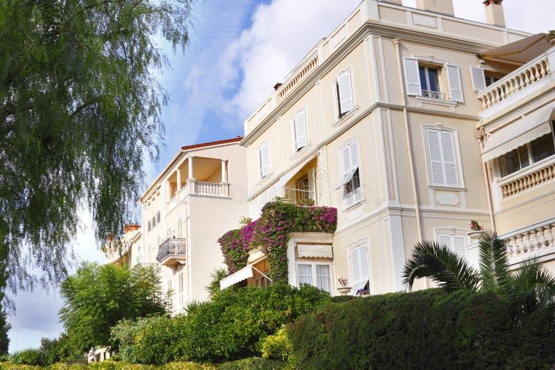 Monte Home luxuoso - Carlo foto de stock royalty free