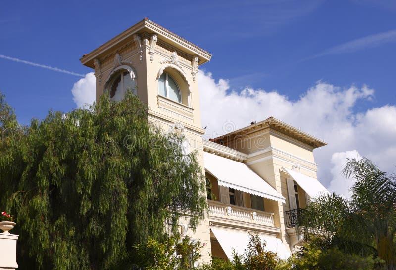 Monte Home luxuoso - Carlo imagem de stock royalty free