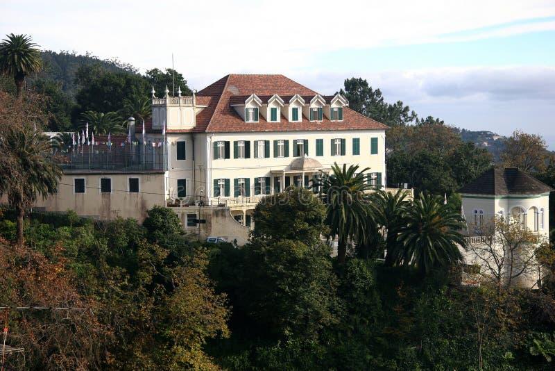 Monte, Madeira. Summer residence Emperor Karel I from Austria royalty free stock photos