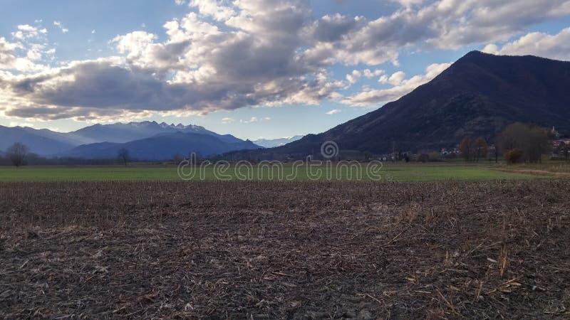 Monte Musinè, Alpi Graie, Piemonte, Italia arkivfoto